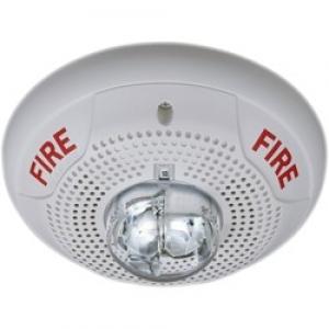 system-sensor-spscw-speaker_strobe-ceiling-mount-white